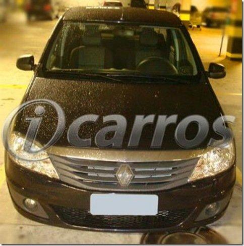 Renault Logan reestilizado é flagrado sem disfarces no Brasil