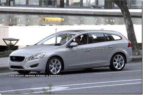 Volvo V60 é flagrada em testes; Station Wagon já está sendo produzida