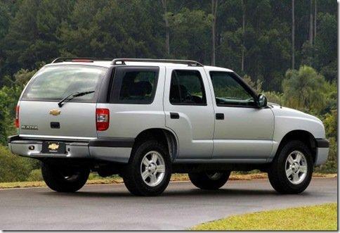 Chevrolet Blazer deixa de ser vendida na Argentina