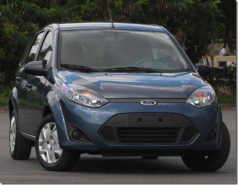 Ford apresenta oficialmente o Fiesta 2011