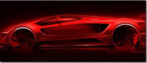 Supercarro nacional Amoritz GT DR7 será apresentado no Salão do Automóvel de São Paulo