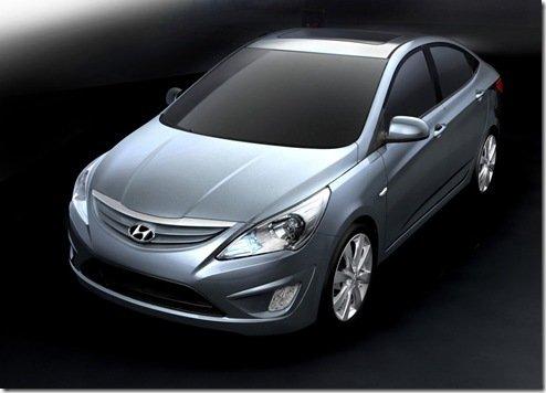 Hyundai apresenta a nova geração do Verna/Accent