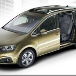 Seat mostra nova geração da minivan Alhambra