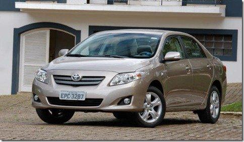 Toyota divulga nota sobre a proibição da venda do Corolla em Minas Gerais