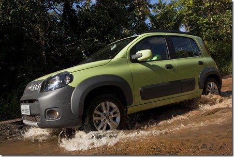 Novo Fiat Uno pode ganhar câmbio Dualogic em 2012
