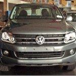 A Volkswagen Amarok de perto