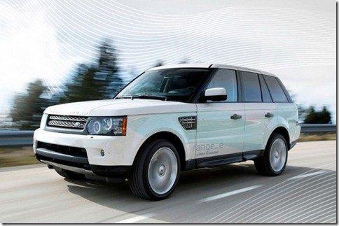 Land Rover Range Rover ganha protótipo híbrido