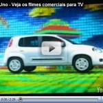 Video – Comerciais de lançamento do Novo Uno
