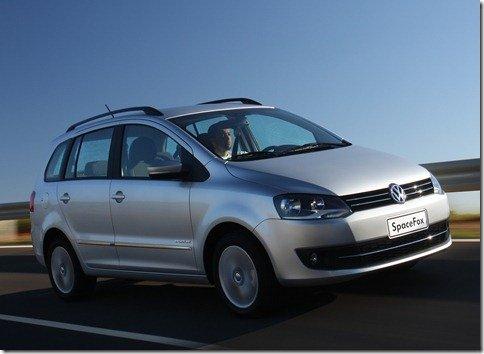 Volkswagen lança Nova SpaceFox 2011 por R$ 48.790