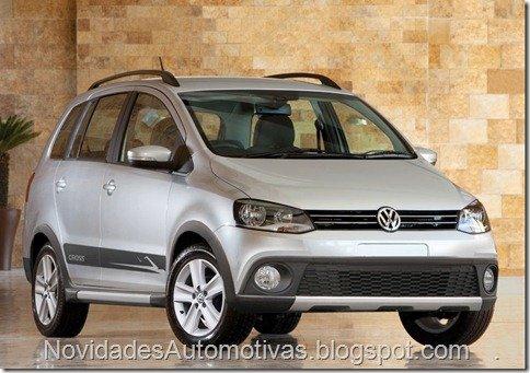 Nova Volkswagen SpaceFox terá versão Cross