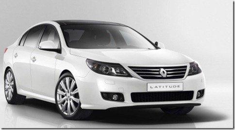 Renault Latitude é revelado