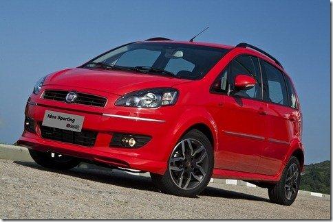 Primeira foto da nova Fiat Idea Sporting