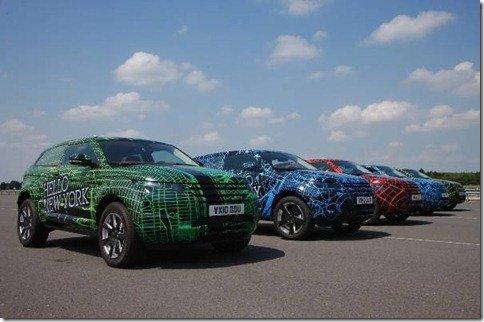 Land Rover faz campanha publicitária do Range Rover Evoque pelo mundo; São Paulo é uma das cidades escolhidas