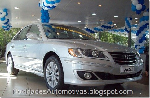 Hyundai Azera 2011 já está à venda nas concessionárias