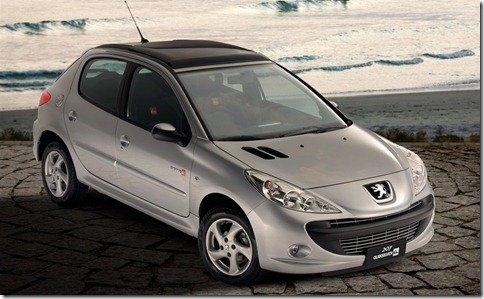 Peugeot irá produzir 1000 unidades a mais do 207 Quicksilver; 307 terá edição especial em breve