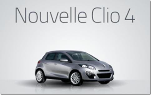 Vaza possível imagem do Renault Clio 4