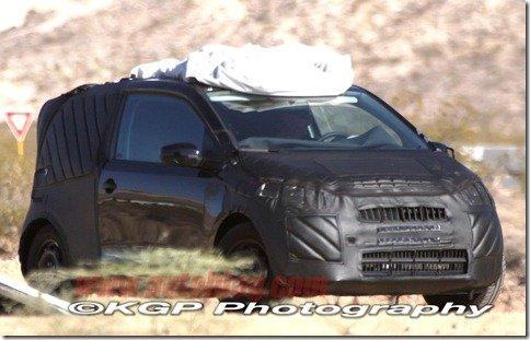 Volkswagen UP! é flagrado em testes