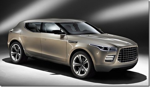 Aston Martin desiste de lançar crossover