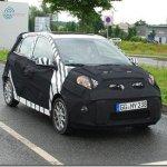Nova geração do Kia Picanto é flagrada em testes