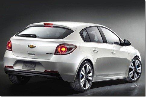Chevrolet Cruze hatch aparece como conceito