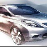 Nissan revela imagem do novo Versa/Tiida