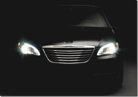 Chrysler divulga teaser do novo sedã 200