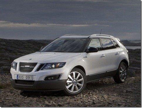 Saab apresenta o crossover 9-4x
