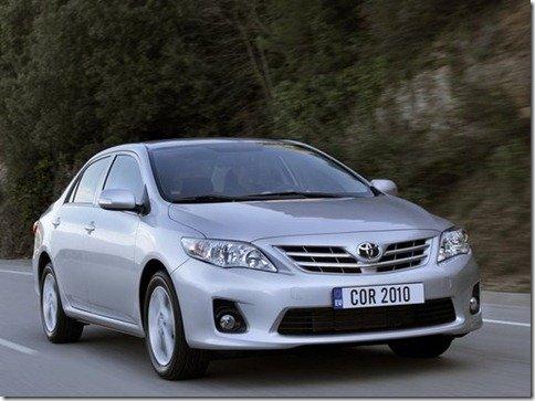 Toyota Corolla será reestilizado em 2011