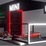 MINI mostra como será seu stand no Salão do Automóvel