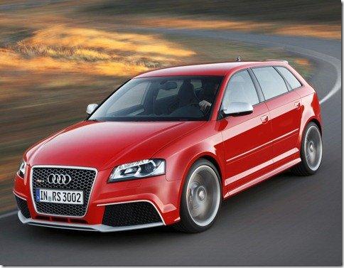 Audi RS3 Sportback é apresentado oficialmente