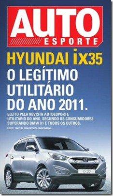 Hyundai diz que ix35 foi eleito Utilitário do Ano