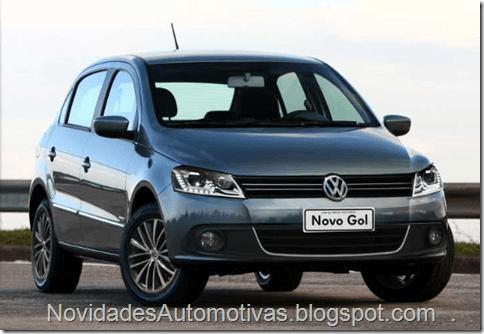 Volkswagen Gol G6 deverá ser lançado em 2012