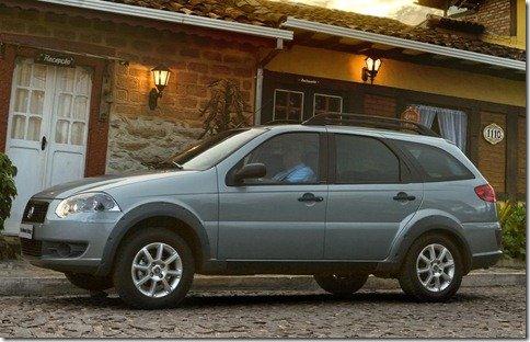 Fiat Palio Weekend Trekking ganha motor 1.6 16v