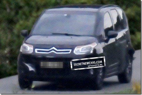 Citroën C3 Picasso europeu receberá visual baseado no Aircross