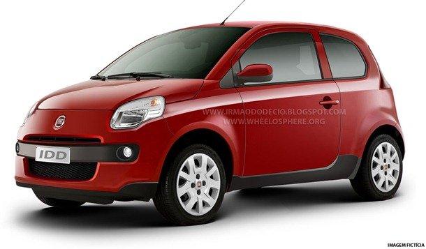 Subcompacto da Fiat também será vendido na Índia