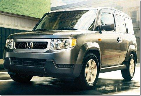 Honda Element deixará de ser produzido em 2011