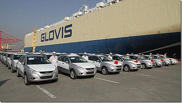 JAC enbarca seus primeiros 500 carros para o Brasil