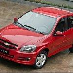 Chevrolet divulga fotos e informações oficiais do Celta 2012; Prisma também recebe novidades