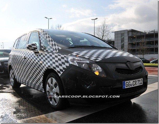Flagra: Opel/Vauxhall Zafira 2012