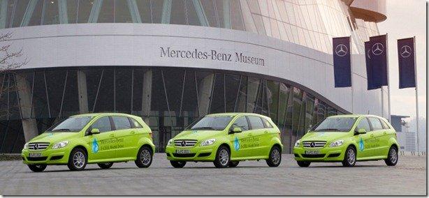 Mercedes-Benz fará 'volta ao mundo' com três Classe B movidos a hidrogênio