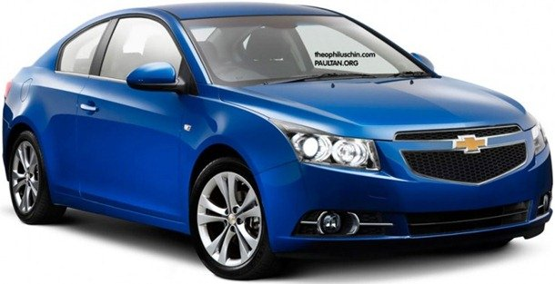 Chevrolet Cruze poderá ter versão cupê