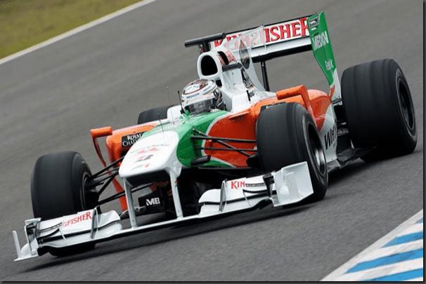 F1: Force India vai apresentar dupla de pilotos semana que vem