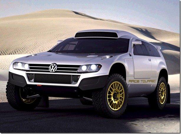 Volkswagen Touareg aparece em duas novas versões no Salão do Catar
