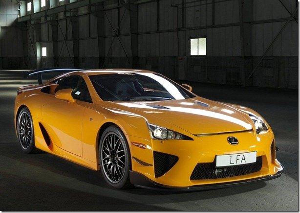 Lexus cria edição especial Nürburgring Edition para o LFA