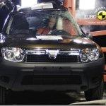 Dacia Duster desaponta em teste de colisão