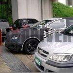 Chevrolet Cruze hatch e sedã são flagrados no Brasil