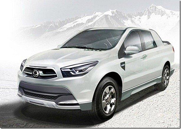 SsangYong SUT 1 Concept adianta nova picape da marca