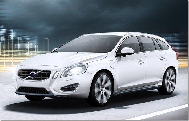Volvo apresenta o V60 híbrido