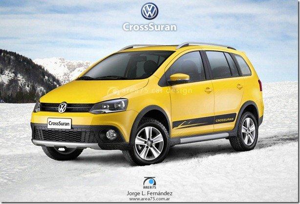 Volkswagen SpaceCross começa a ser produzida em junho