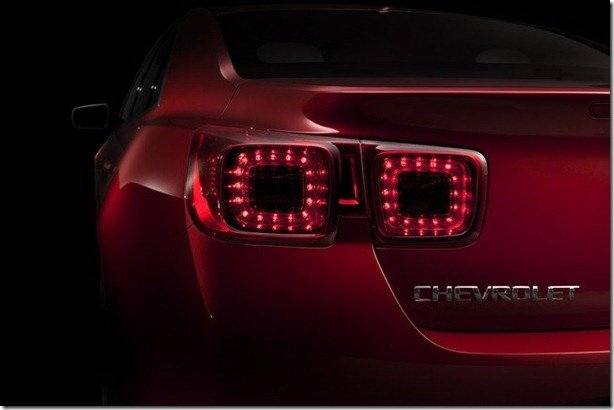 Chevrolet revela teaser do novo Malibu